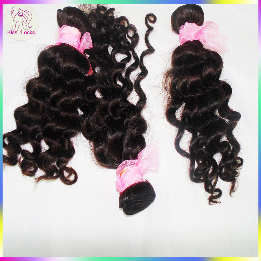 Look here ! Real 10A premium quality loose deep wave Mongolian remy hair extension for different size