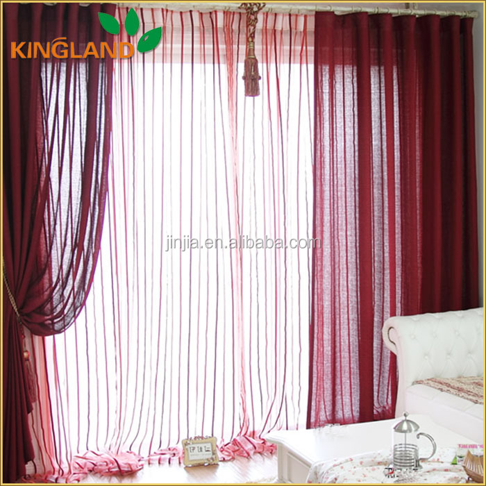 China Shaoxing classic Sheer European Style Window Curtains