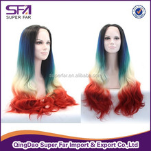 New Style Beauty synthetic cheap long lace front wig italy, front lace wig, lace wig making course