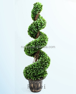 Large Boxwood Spiral Tree Big Tree Artificial Plant