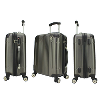 High Quality 4- Wheels Trolley Case, Laptop luggage bag luggage set polo luggage