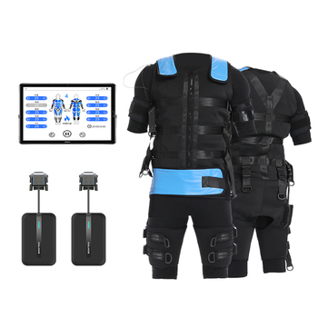 Professional muscle stimulations ems suits wireless fitness machines in gym