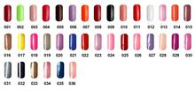 Free shipping 6pcs VOG fashion One Step Soak Off Gel Polish 15ml 36 beautiful colors for