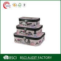 Personalized Custom Design cardboard suitcase box