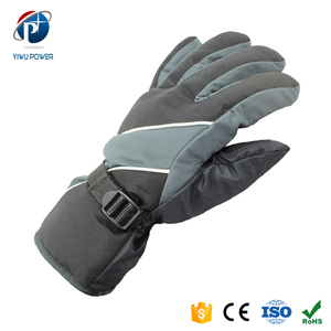 YP-SG-0062 Wholesale Custom Heated Ski Gloves Winter Glove for Men One Size Fits All