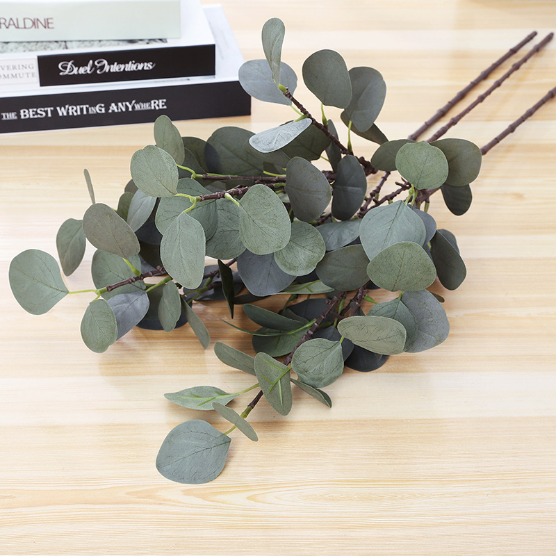 Factory Direct   Eucalyptus Leaves  Artificial Wedding Flower    Wholesale .