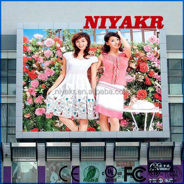 smd led driver module mini pc a13 Niyakr programable outdoor led advertising billboard P10