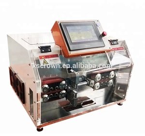 Automatic thick wire large cable stripping cutting machine