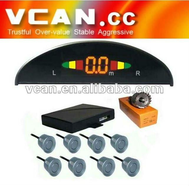 Rainbow LED Display front Parking Sensor -VCAN0382-1