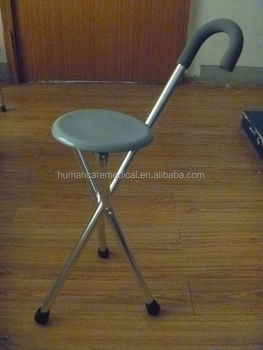 Antique Wooden Chair With Cane Seat,3 Leg Folding Cane Seat Chair