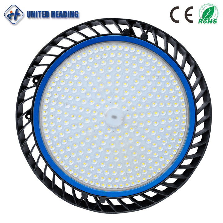 2017 hot selling Aluminium materilal IP65 waterproof high power 200w ufo led high bay light