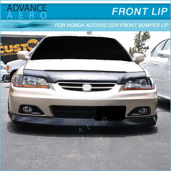 FOR 01-02 HONDA ACCORD 2 DOOR OE STYLE FRONT BUMPER LIP SPOILER BODY KITS & For 01-02 Honda Accord 2 Door Oe Style Front Bumper Lip Spoiler Body ...
