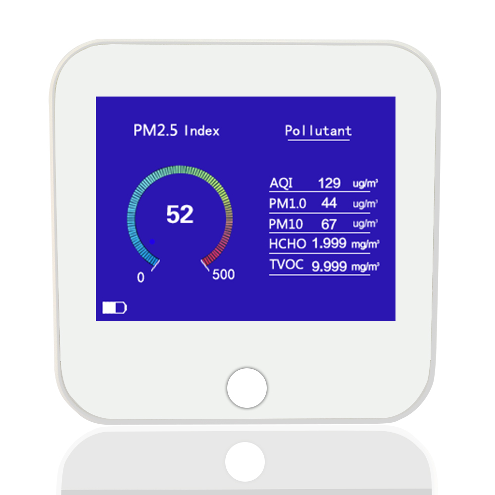 Dienmern 2018 New PM2.5 Air quality monitor PM1.0 PM10 HCHO/TVCO AQI air detector with Temperature and humidity Poland