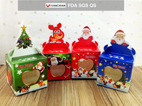 Christmas Eve apple packing box with customized logo