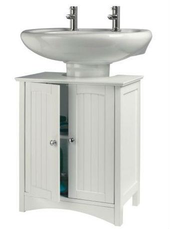 מודרניסטית מתחת לכיור אחסון ארון קיר בחדר האמבטיה יחידה-לבן.-ארונות סלון-מספר BY-31