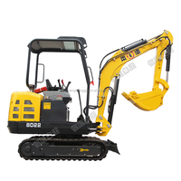 1 ton hydraulic crawler excavator prices