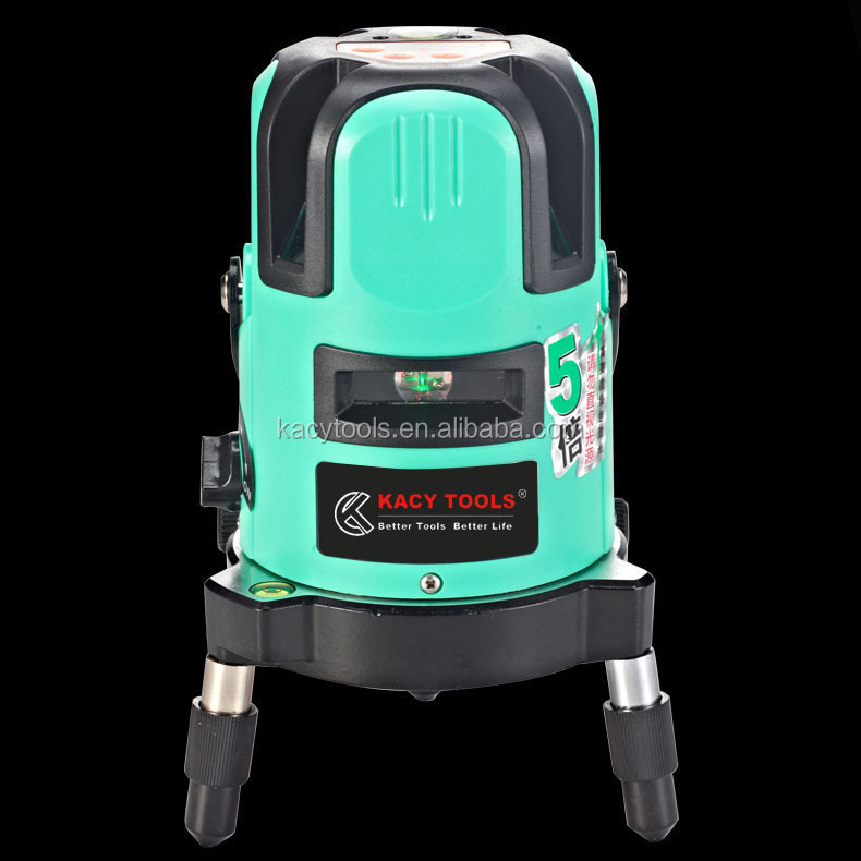 New Style Wholesale 4V1H1D green Laser <strong>Level</strong> 32875L-5