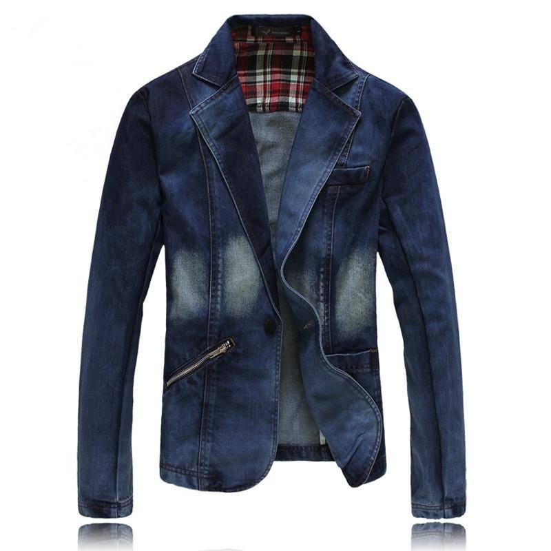 Compra Vaqueros para hombre de moda y chaqueta online al