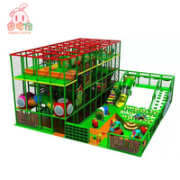 Customized colorful theme room soft play area fence games shopping mall indoor children playground equipment for kids dubai