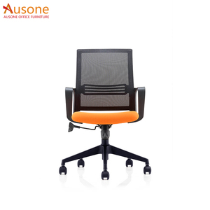 2018 hot sale cheap Leather Medium Back plastic back office chair staff chair
