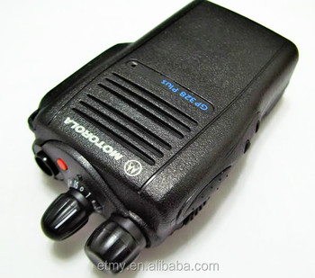 Motorola GP328 plus two way radio long range VHF/UHF walkie talkie