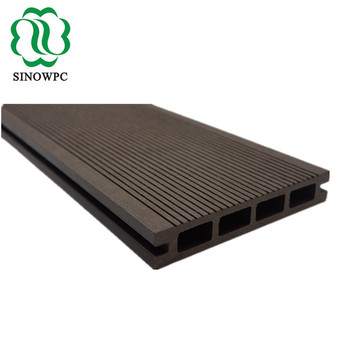 Waterproof Wood Plastic Composite Decking Board Cheap