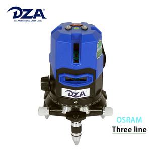 Blue-green Osram Laser Diode Light Cross Three Lines laser Level