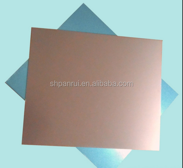 Wholesale china products copper clad laminated plank CCL FR1
