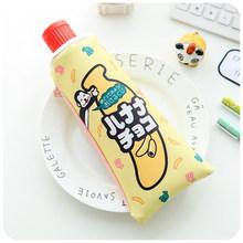 Чехол-карандаш с точилкой для карандашей Escolar Многофункциональный креативный милый зубная паста в форме Kawaii корейский Канцтовары школы BD021G(Китай)