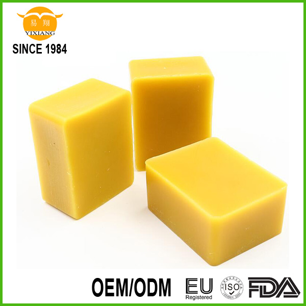 Refined yellow beeswax slab, bee wax pellets, high purified bees wax, honey bee wax