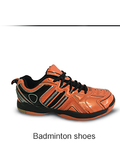 New Arrived Flat Yellow Color Badminton Shoes