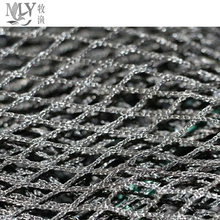 PE / nylon knotless fishing net price for sale