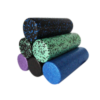 mini size epp yoga foam roller muscle massage roller physical therapy custom logo 10*30cm