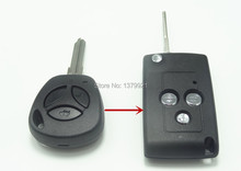 Refit remote key shell case fob for LADA key Granta Largus 4X4 Kalina Priora refit key shell