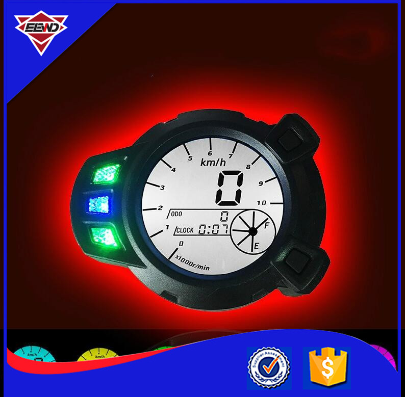 Motorcycle Instruments 10000 RMP LCD Speedometer Tachometer Scooter for Yamaha Zuma BMK x 125 YW125