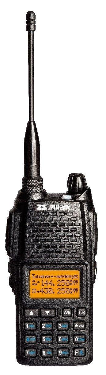 Aitalk AT-5000 Dual Band 136-174/400-522MHZ 5W 128CH CTSS/DCS 2 way radio