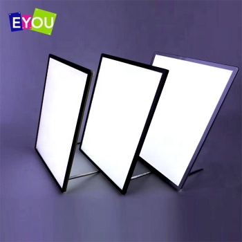 Wall mount hanging LED super thin light box desk stand light frame menu board for advertising