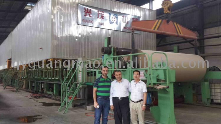 Cardboard recycle line pulp mould production machine