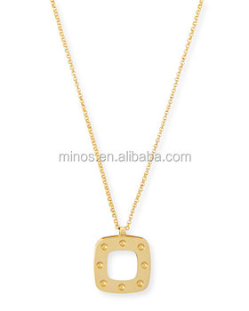 Gold Necklace Designs In 20 Grams With Price 18k Mother Of Pearl Pendant 10