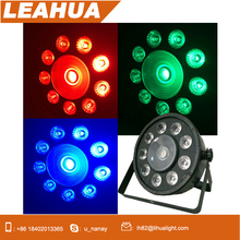 Factory sales cheap 9+1PCS led par light hot selling city color changing night club