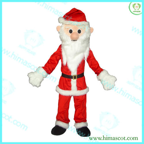 HI CE High quality long beard santa claus mascot costume party costume for adult