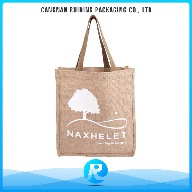 Ruiding 2017 Best Trading Products ISO9002 Recycled Trees Printed Lady Small Tote Bags