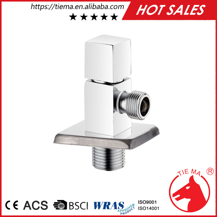 Professional China brass long angle valve made in china
