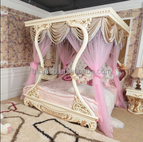 Bisini Luxusmöbel, Italienischen Luxus Schlafzimmer Möbel, Klassischen  Handgeschnitzten Holzbett, Luxus Gepolstert Himmelbett