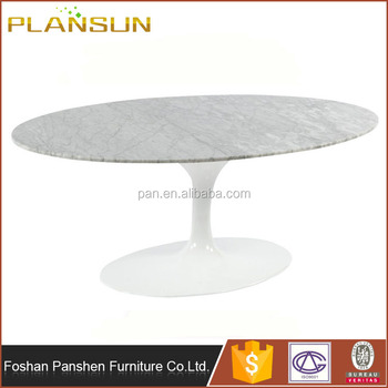 Fine Simplistic Design Eero Saarinen 10 Seater White Marble Oval Dining Table With Oval Base View 10 Seater Marble Dining Table Panshen Product Details Uwap Interior Chair Design Uwaporg