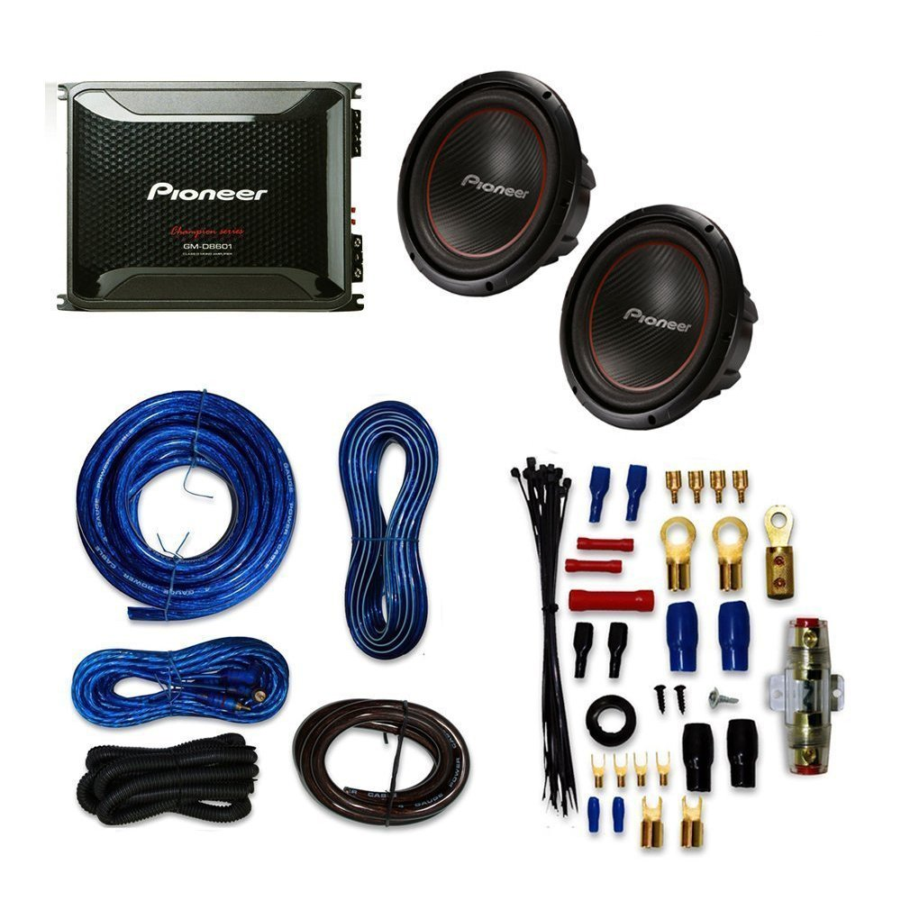 Cheap Wiring 4 16 Ohm Speakers Find Deals Subwoofer Get Quotations Pioneer Tsw304r 12 With Gm D8601 Mono Amplifier 800