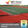 VIT Basketball court floor paint, dustfree warehouse flooring paints