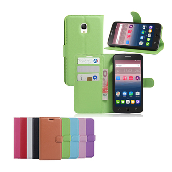 hot sales 3b62b c60a5 Classic Design Folio Wallet Book Stand Leather Case For Alcatel One Touch  Pop Star 5.0 3g Ot5022 5022x 5022d - Buy Leather Case For Alcatel Pop Star  ...