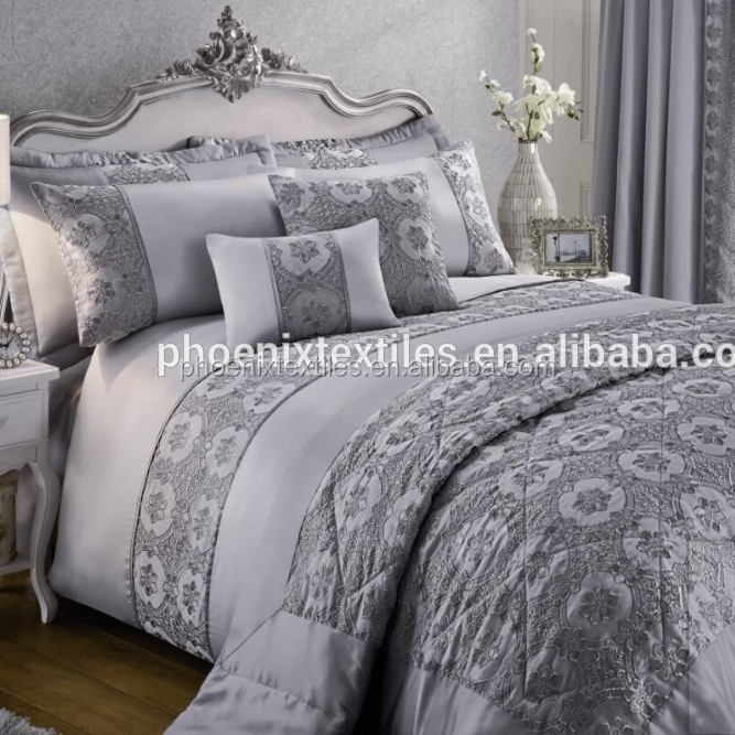 comforter sets polyester lace bedspreads home plain satin