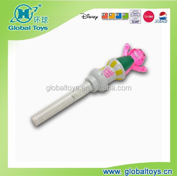 HQ7918 torch with dinosaur figure with EN71 standard for promotion toy